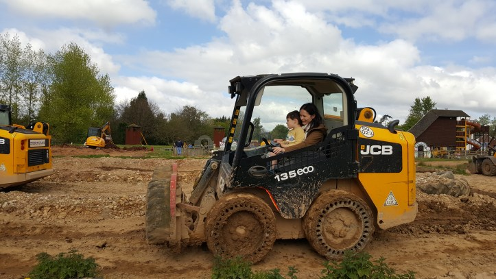 Diggerland Devon review price information location and ticket info toddlers