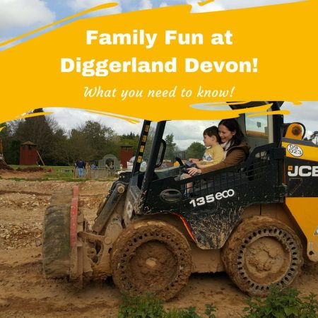 Family Fun at Diggerland Devon! What you Need to Know review and location info