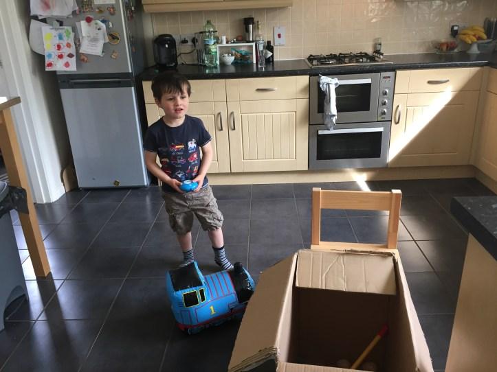 Go Go Thomas Inflatable Fun bladez toys review