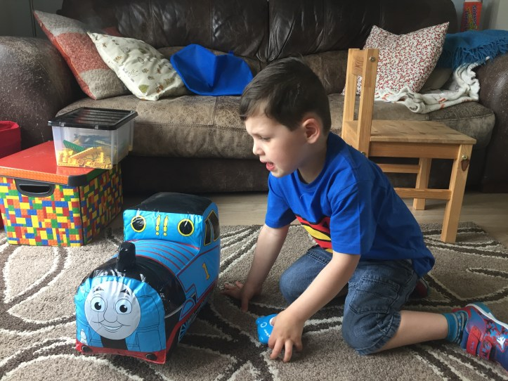 Go Go Thomas Inflatable Fun bladez toys review