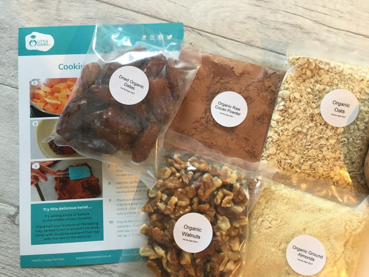 little cooks co subscription box review muffins sweet ppotato