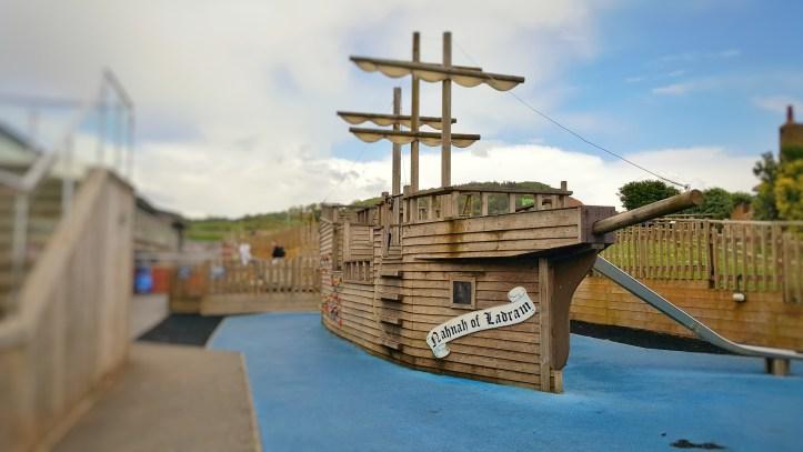 pirate ship adventure play at ladram bay