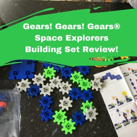 Gears Space Explorers Building Set Review by learning resources STEM educational toys