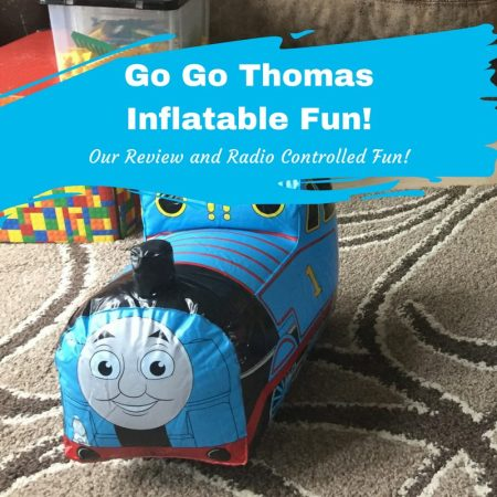 Go Go Thomas Inflatable Fun bladez toys review perfect pre school age gift radio remote control