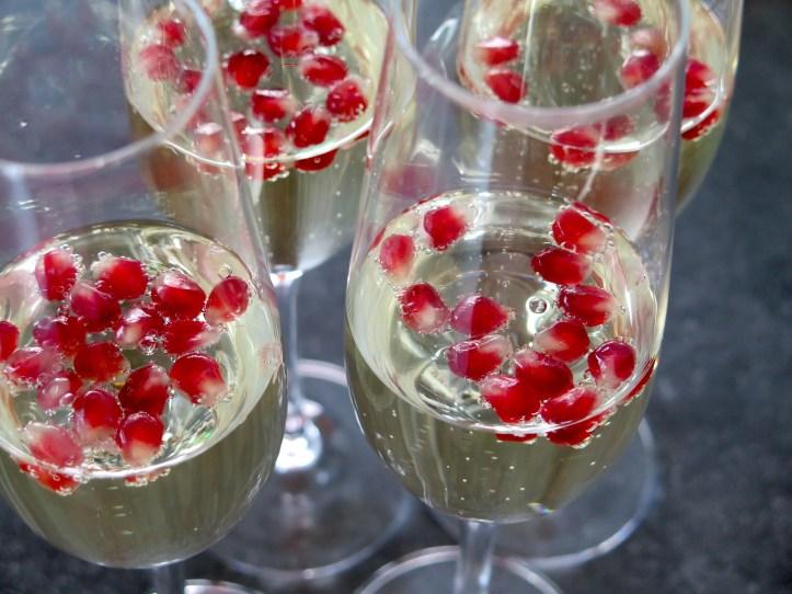 prosecco and champagne mum friends