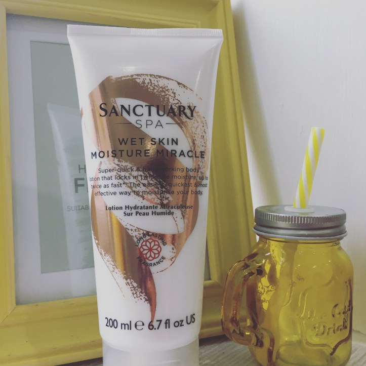 Sanctuary Spa Wet Skin Moisture Miracle talk to mums