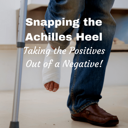 experience snapping achilles heel recovery time healing