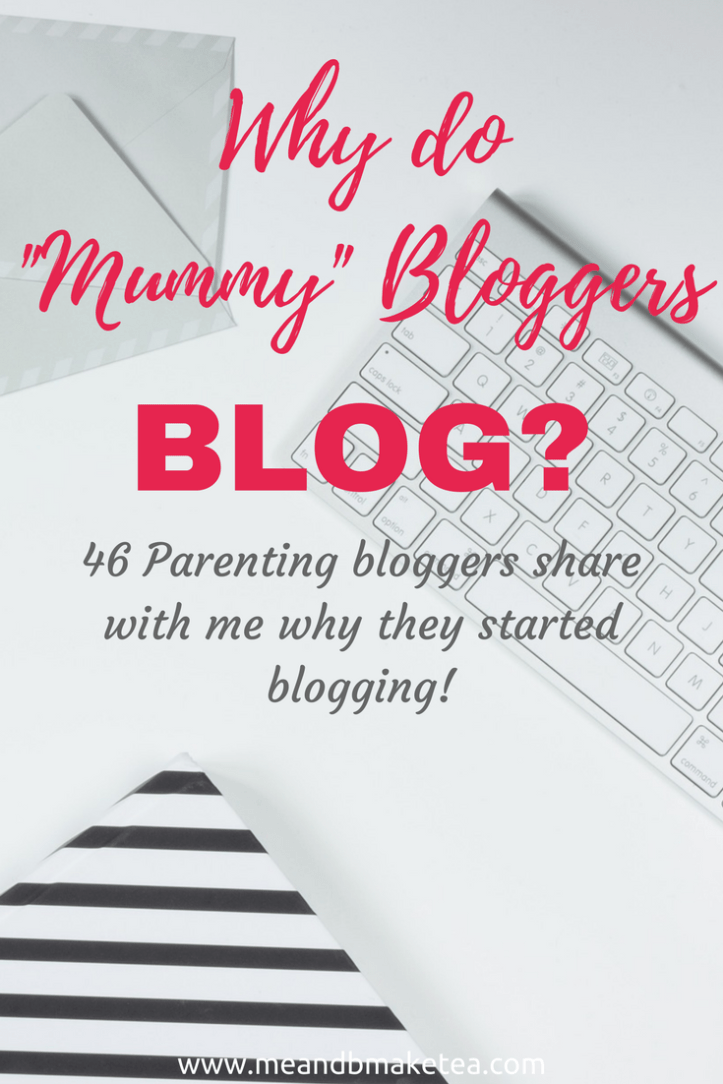 why do parenting bloggers write about life online