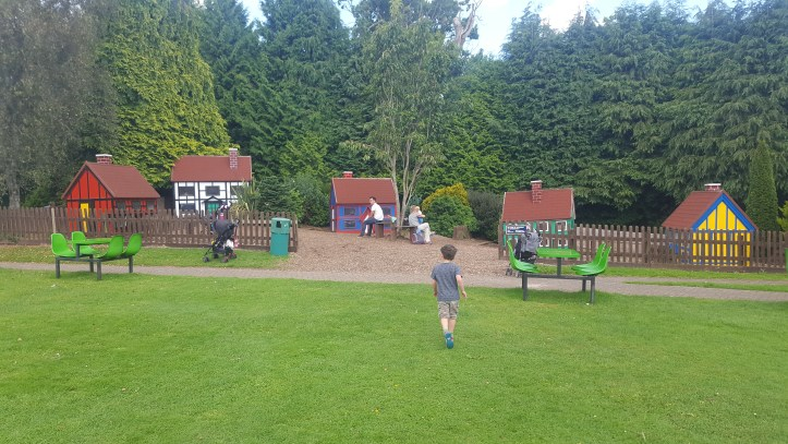 bicton botanical gardens in Devon outdoor play area for children