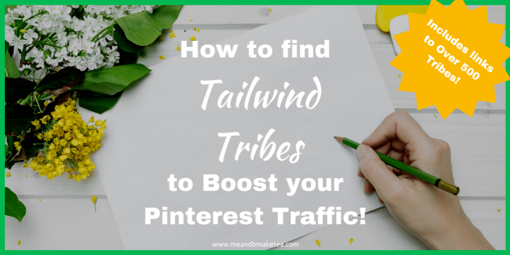 Tailwind Tribes and where and how to find them to boost your pinterest traffic