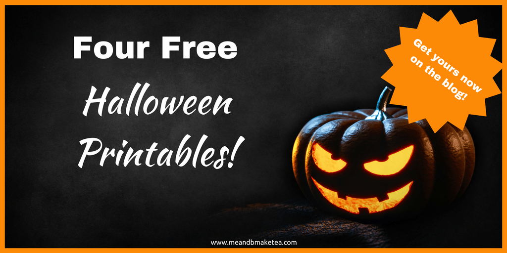 photograph about Happy Halloween Printable identified as 4 Totally free Halloween Printables Suitable for Your Dwelling! Me