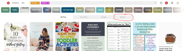 How to find pinterest group boards to join