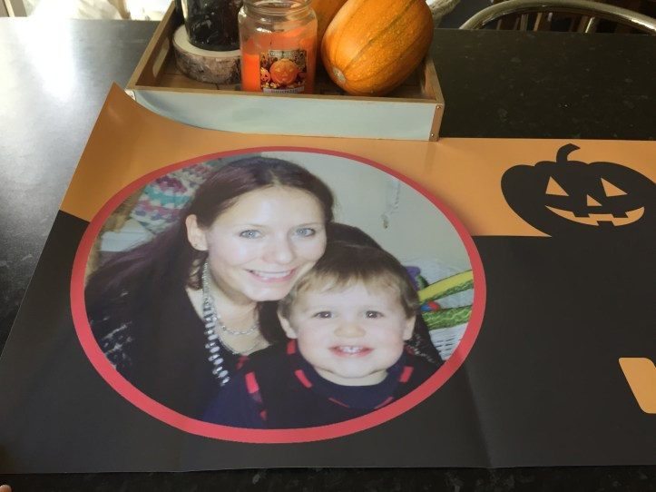 personalised banners for halloween