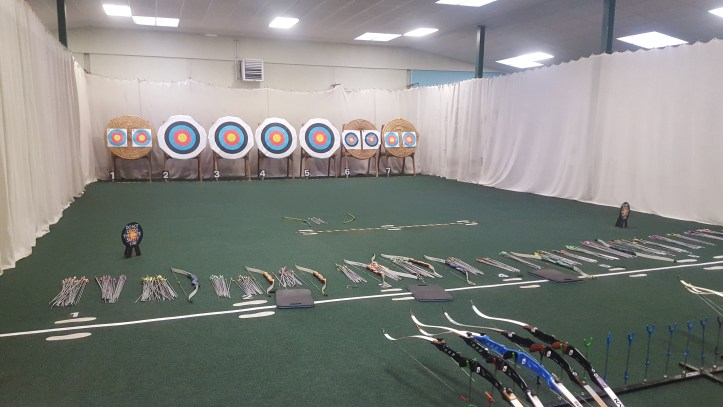 milky way archery range