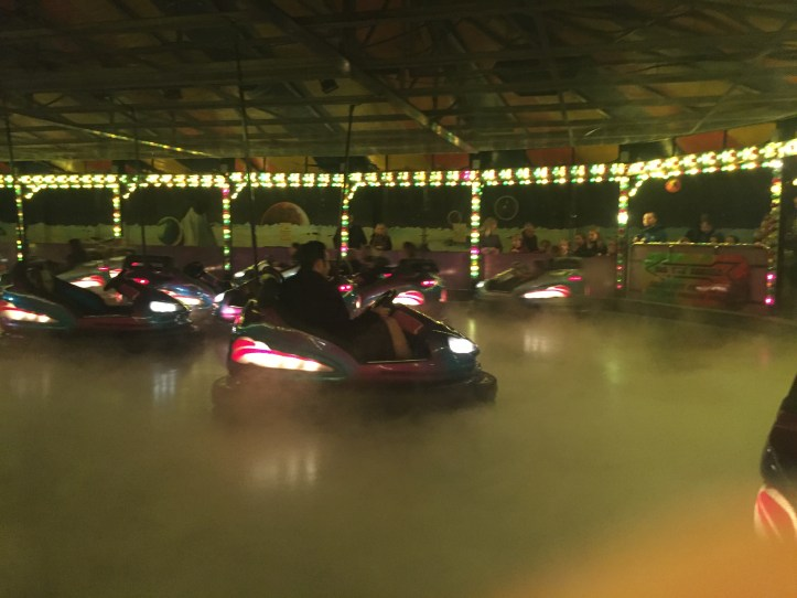 Droid Destroyer Dodgems at the milky way theme park