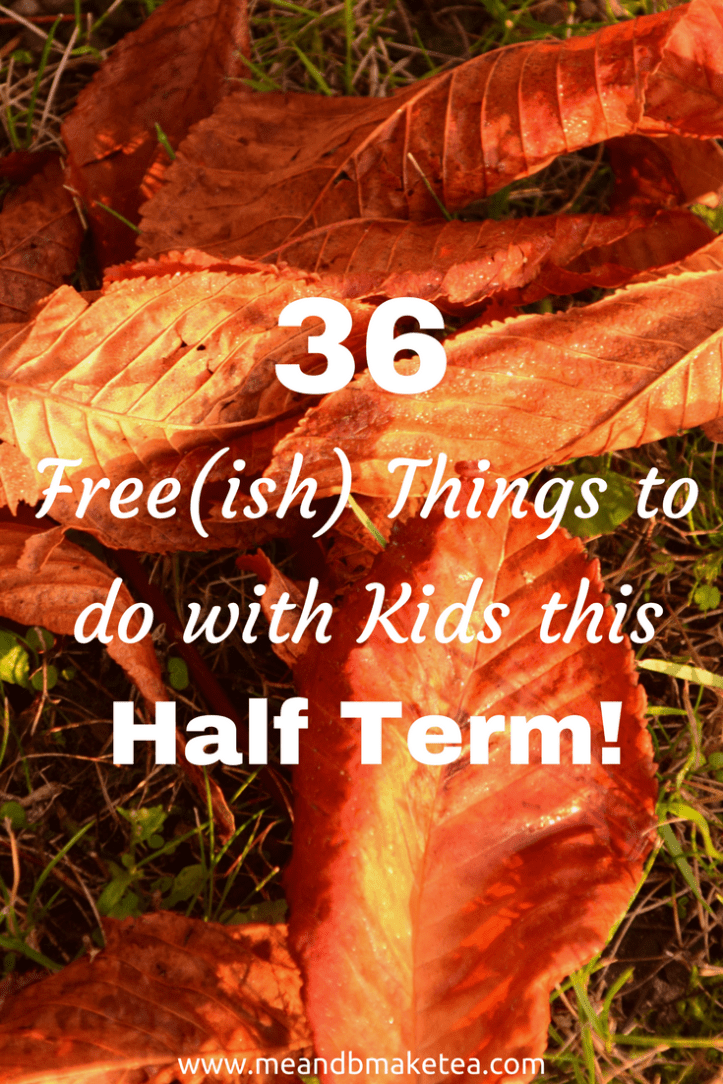 36 things to do with kids half term holiday free or cheap budget ideas