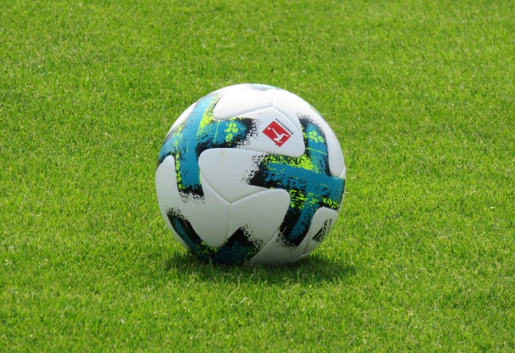 play football and exercise to relax