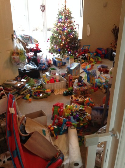 too many christmas toys