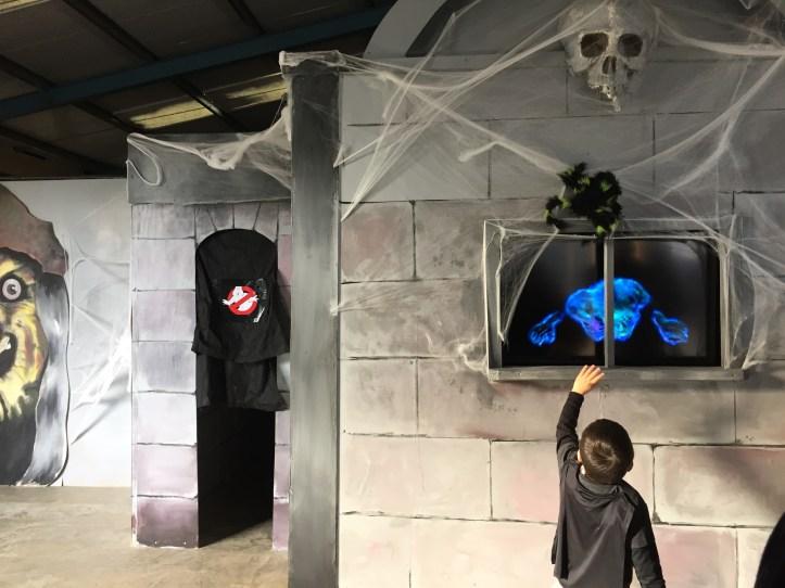 The big sheep devon amusement park halloween haunted house