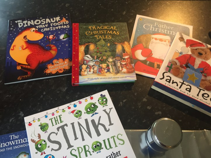 christmas book advent calendar books