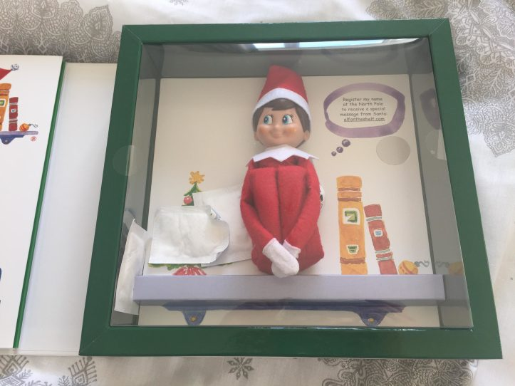 elf on the shelf christmas tradition boxed - easy elf on shelf ideas for kids