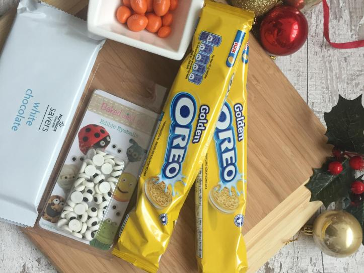 how to make snowmen no bake oreo cookies for christmas parties list of ingredients