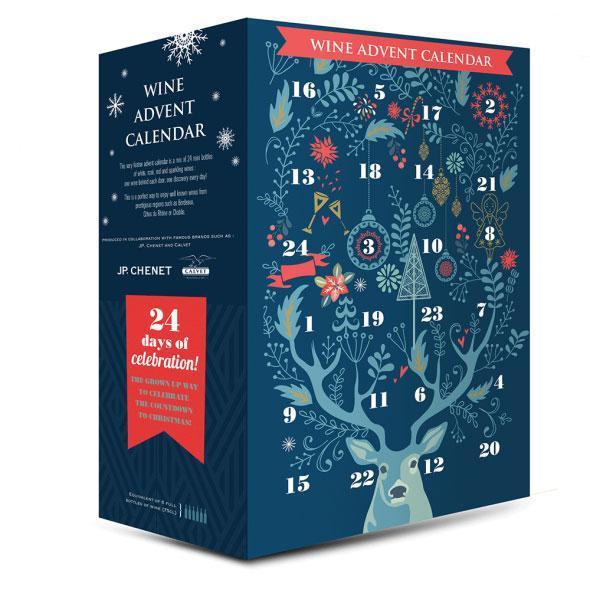 Advent-Calendar wine aldi