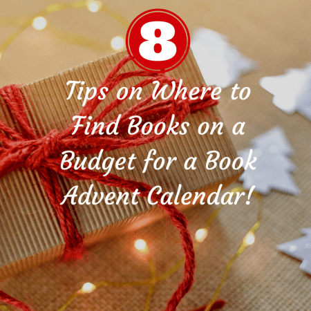 Tips on Where to Find Bargain Books for a book a day Advent Calendar