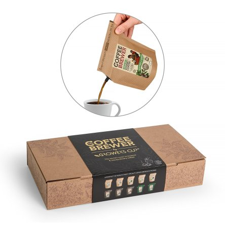 Coffeebrewer Gift Box Assortment 10pcs by Grower's Cu