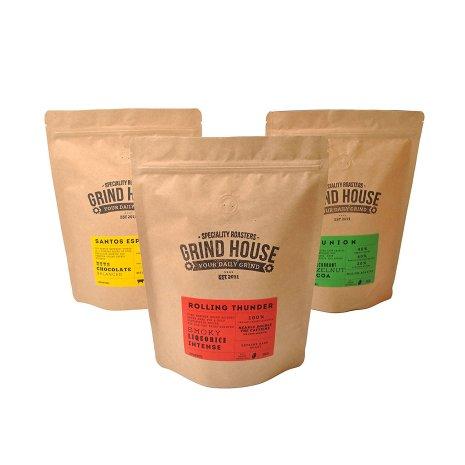 Grind House Coffee Bean Taster Pack 3 x 110G