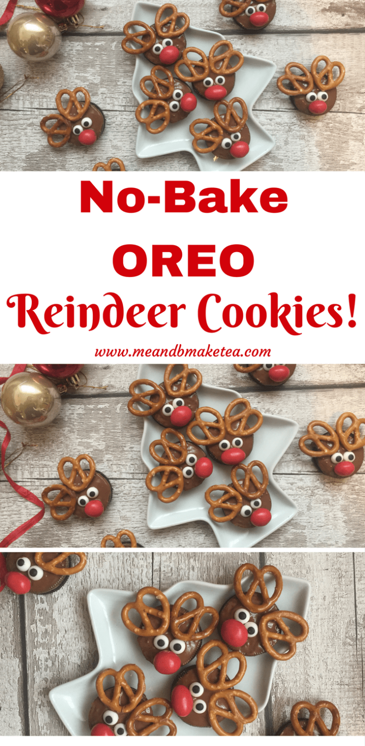 3 Super Easy No Bake Christmas Oreo Cookie Recipes Me And B Make Tea