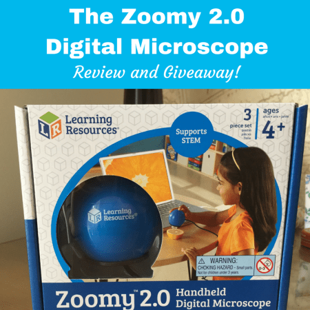 Zoomy 2.0 Handheld Digital Microscope learning resources thumbnail