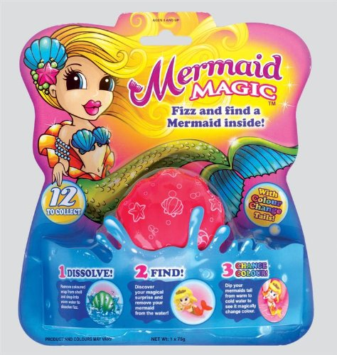 magic mermaid bath fizzer stocking filler
