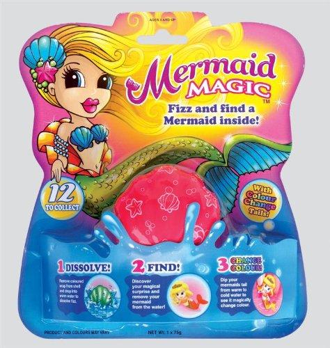 magic mermaid bath fizzer stocking filler