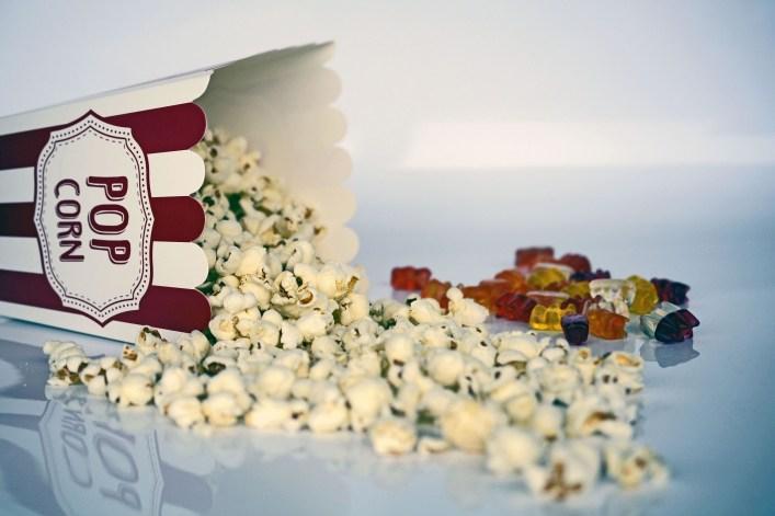 cinema tickets popcorn christmas gift ideas no toys