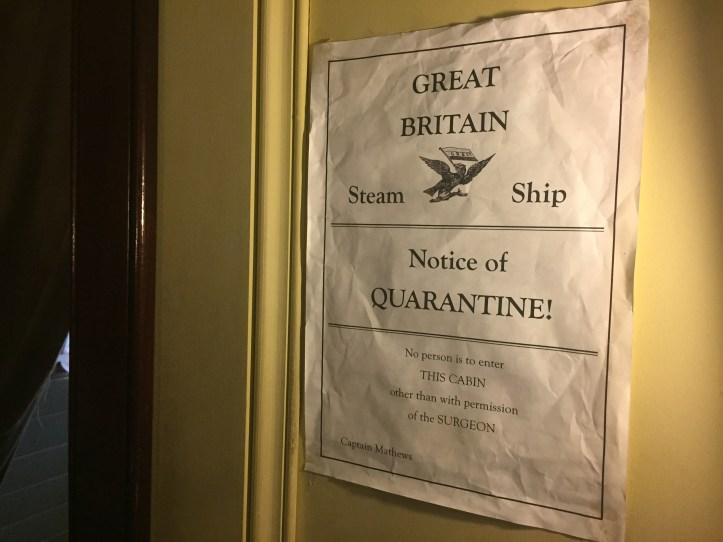 victorian christmas ss great britain bristol quarantine