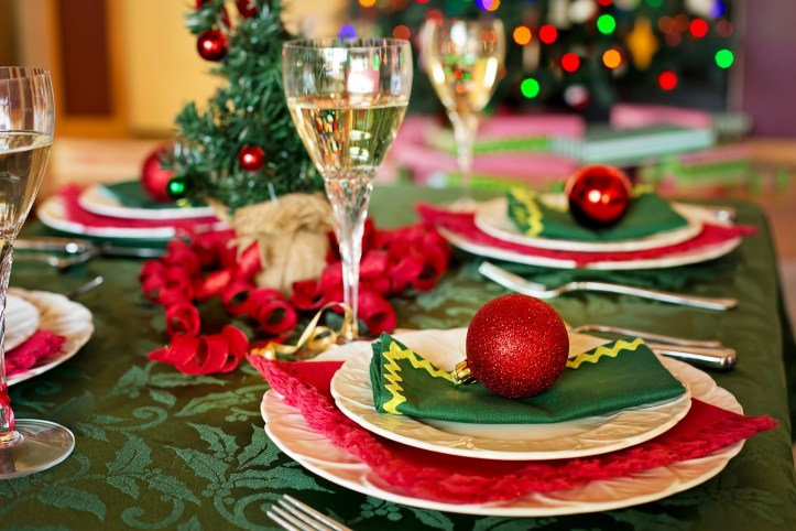 no stress christmas dinner ideas table
