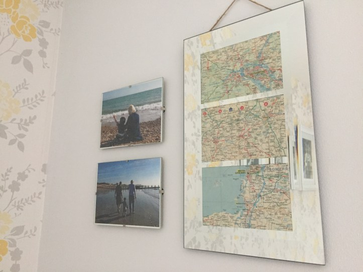 How to Make a DIY Framed Valentine's Gift Using a Map