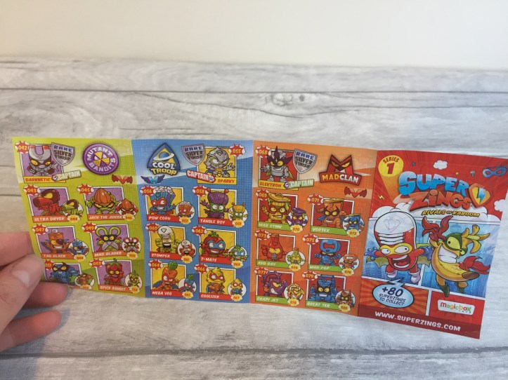 SuperZings Rivals of Kaboom Series 1 'Heroes and Villains