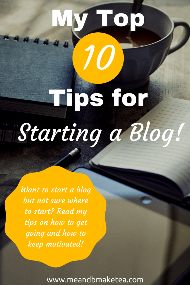 how to start a blog in 2018 pinterest image