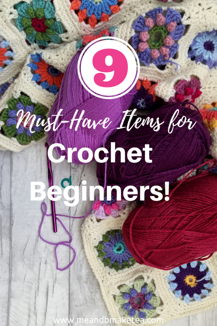 must have items for crochet begginers