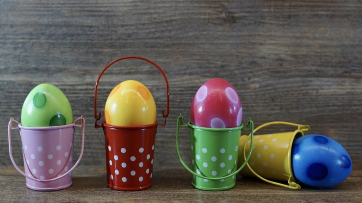 easter spring gift ideas non chocolate no candy sweets egg cups