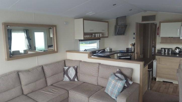ruda holiday park devon croyde bay caravan lounge area
