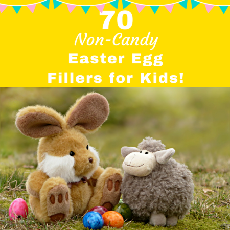 Non-Candy easter egg fillers for kids
