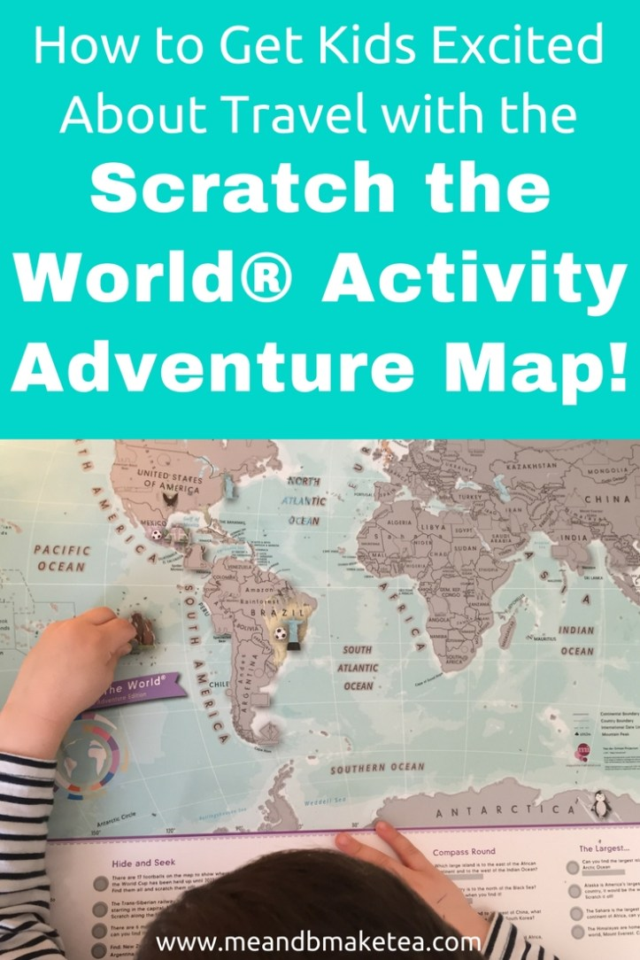 How to Get Kids Excited About Travel with the Scratch the World® Activity Adventure Map! Take a look for more info and the perfect travel gift.