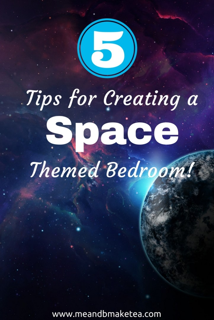 Want to create a fun, super cool space themed bedroom for your little one? Take a look at our top tips for making your kid's bedroom out of this world!