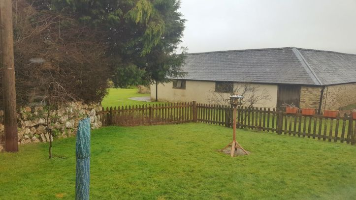 west withy farm cottages in Exmoor Devon perfect for digital detox family holiday enclosed garden area
