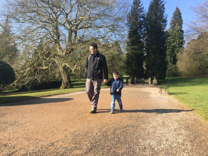 tyntesfield national trust day out with kids