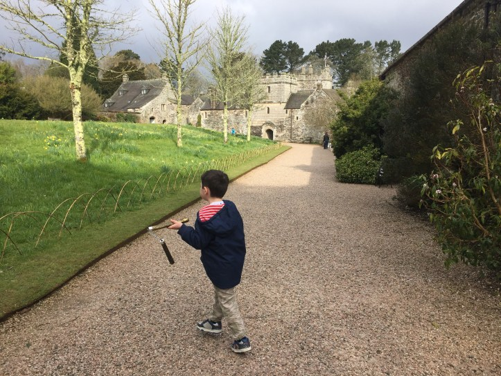 cotehele tudor house cornwall national trust day out with kids