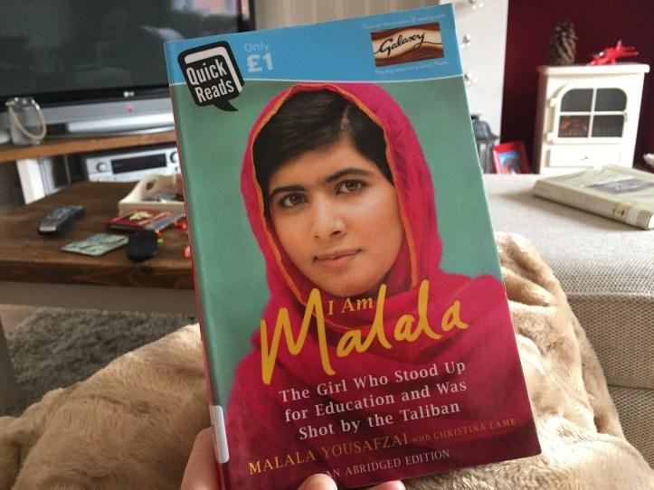 I am Malala -Malala Yousafzai